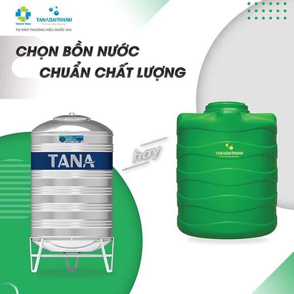Nên chọn mua bồn nước inox Tân Á Đại Thanh hay bồn nước nhựa?