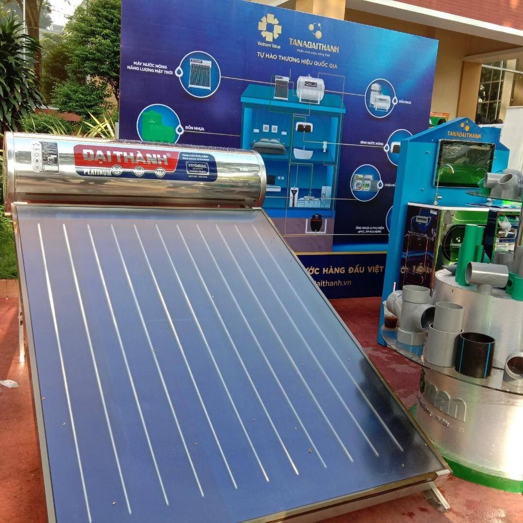Hình ảnh máy nước nóng năng lượng mặt trời tấm phẳng Đại Thành