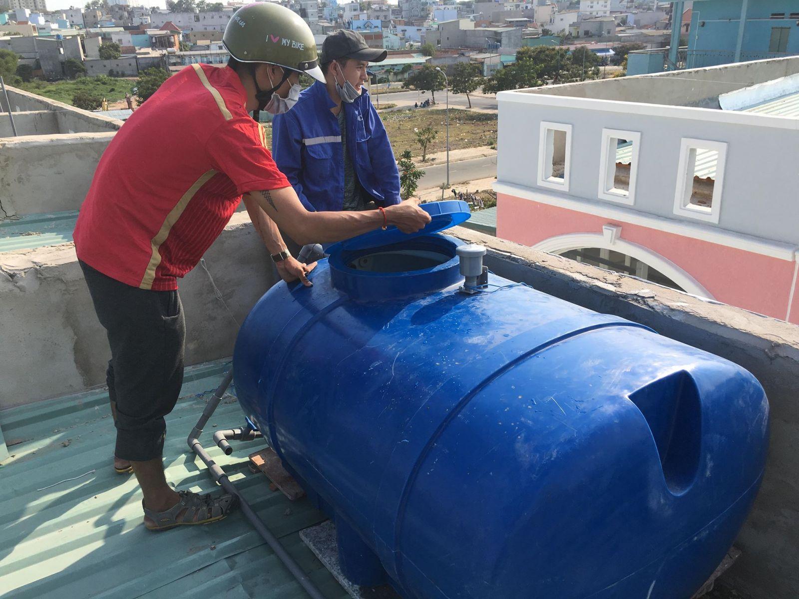 Hướng dẫn vệ sinh bồn nước nhựa Đại Thành