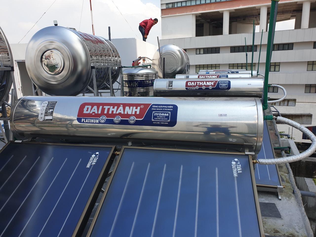 Máy NLMT Đại Thành HD 300L | Máy năng lượng mặt trời tấm phẳng