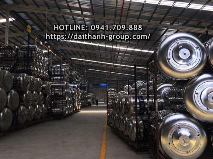 Đơn vị cung cấp bồn nước inox Đại Thành 2000 lít giá tốt