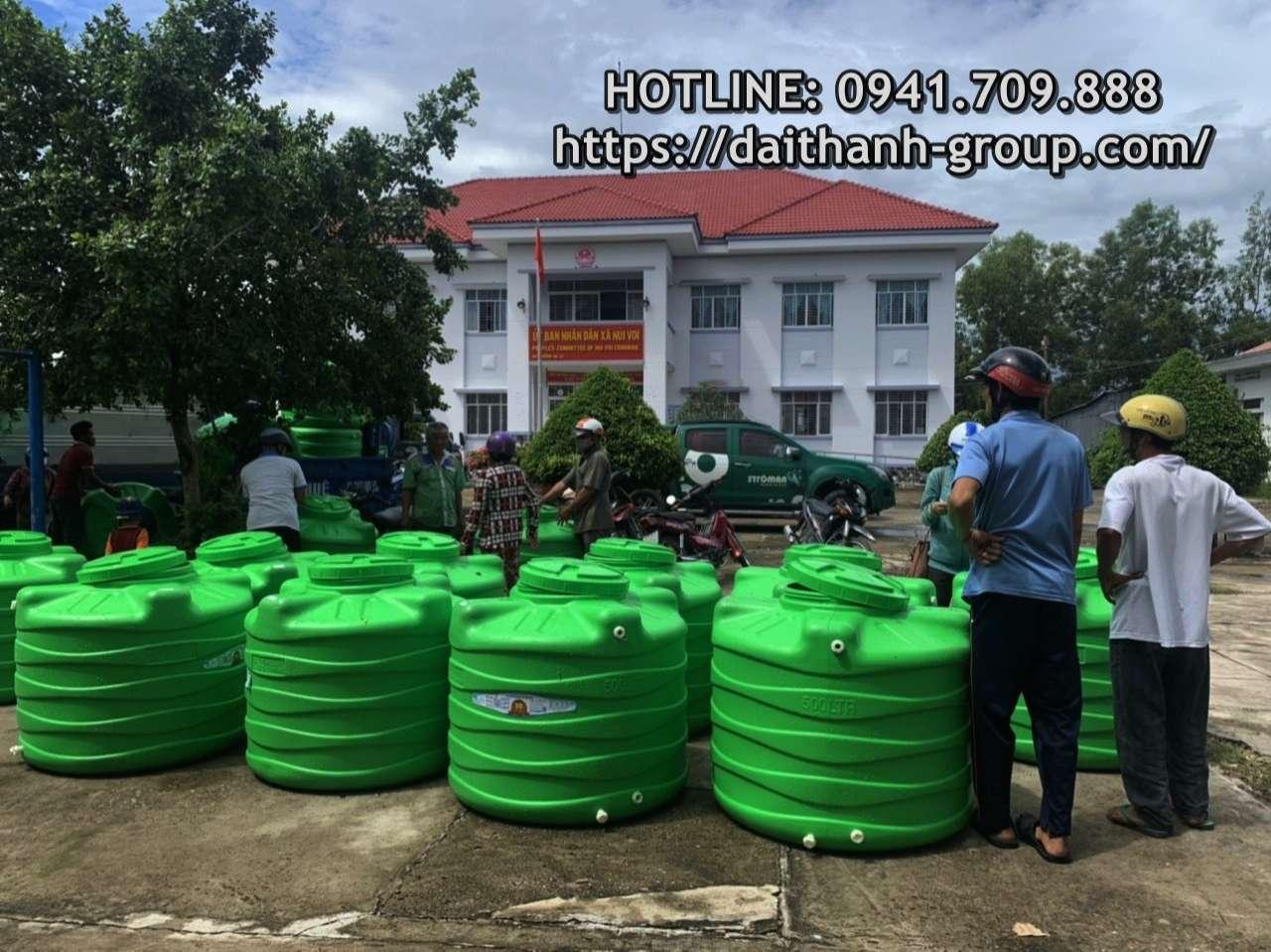 Các đơn vị phân phối bồn nước nhựa Đại Thành