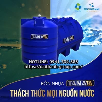 Cung cấp bồn nước nhựa Tân Á 300l tại Hà Nội