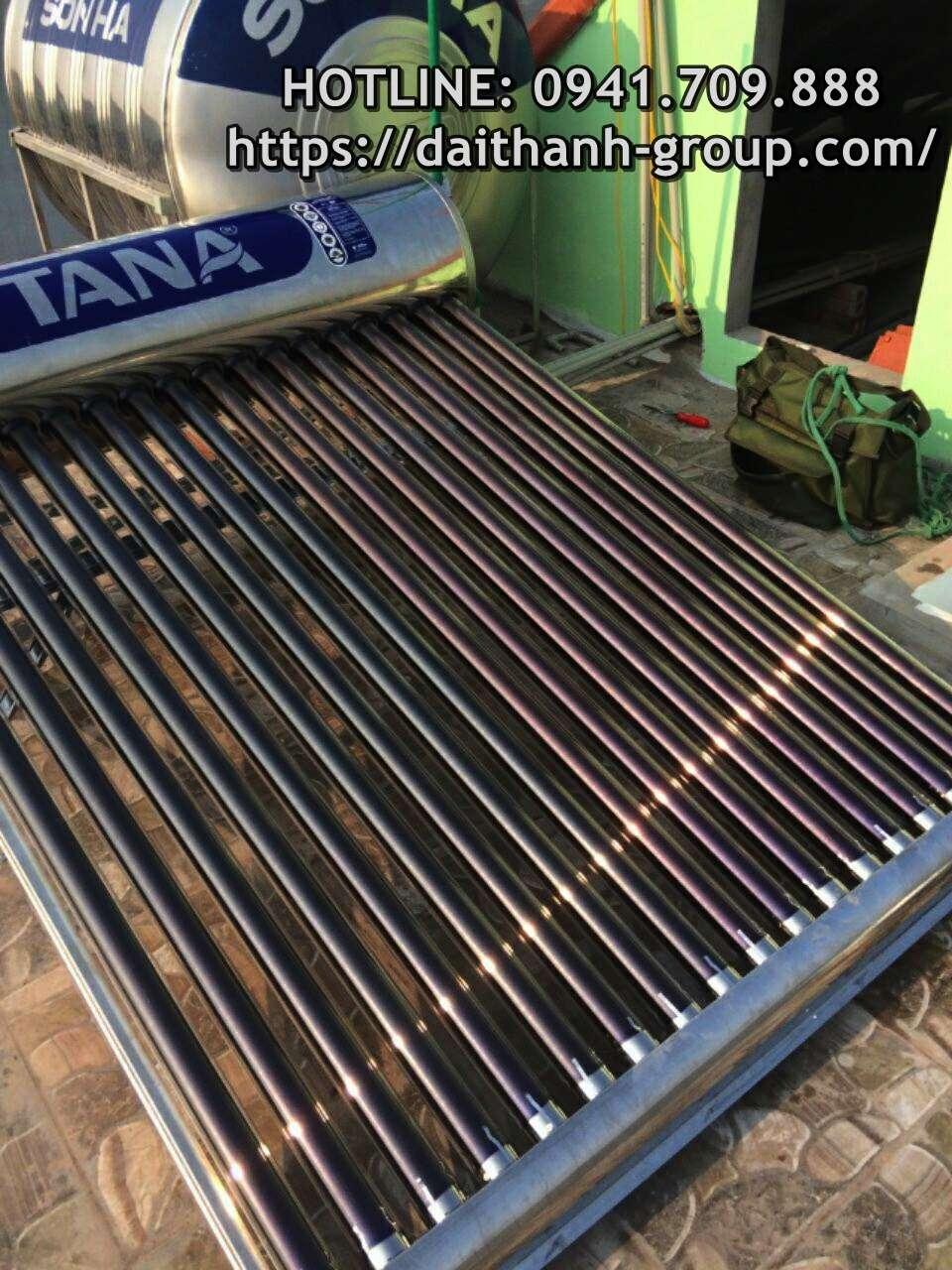 Đơn vị cung cấp máy nước nóng năng lượng mặt trời Tân Á tại Hà Nội