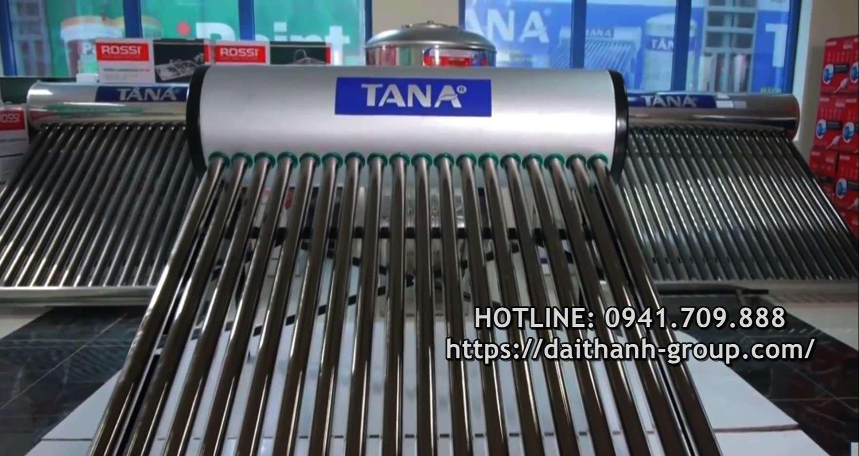 Đơn vị phân phối máy nước nóng NLMT Tân Á tại Hà Nội