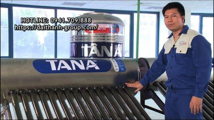 Đại lý phân phối máy nước nóng năng lượng mặt trời Tân Á tại Hà Nội
