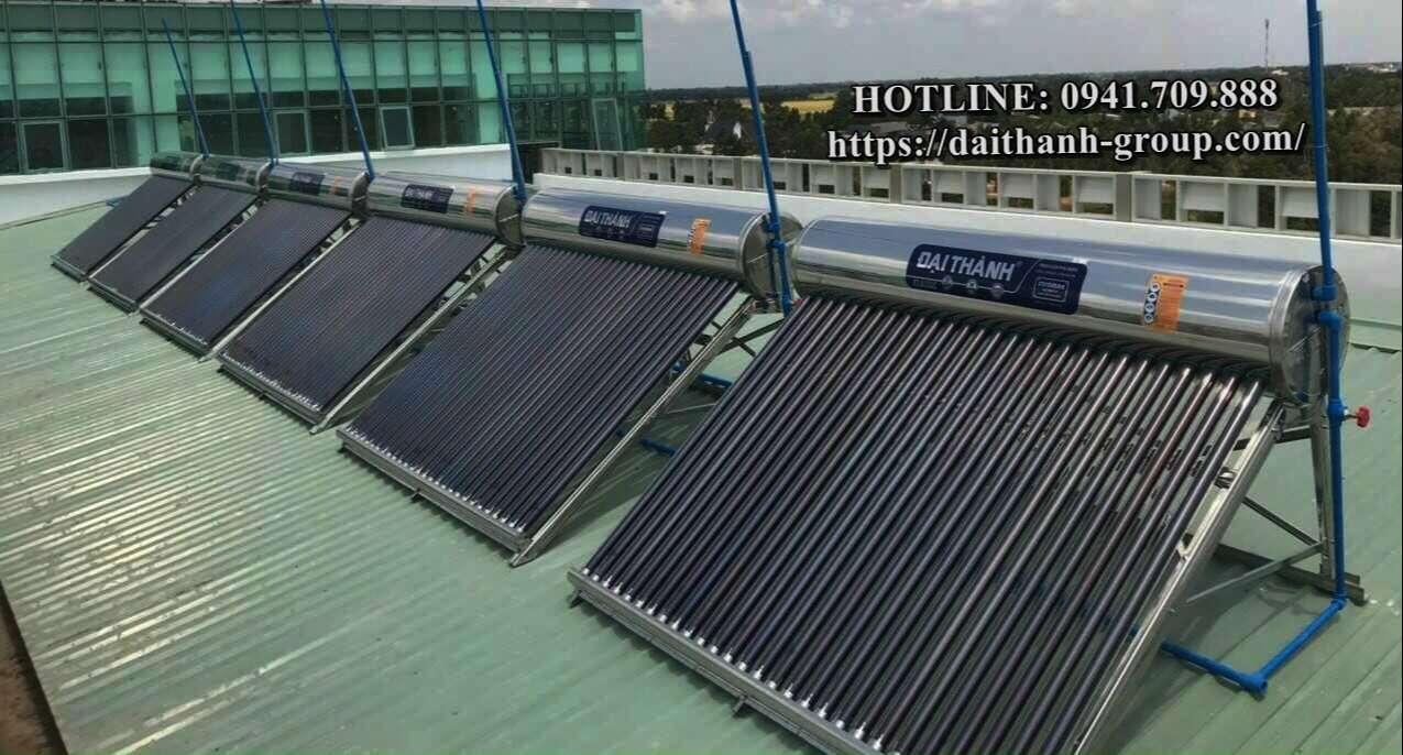 Đơn vị phân phối máy nước nóng năng lượng mặt trời Đại Thành 200l