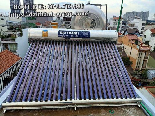 Phân phối máy nước nóng năng lượng mặt trời Đại Thành 200l