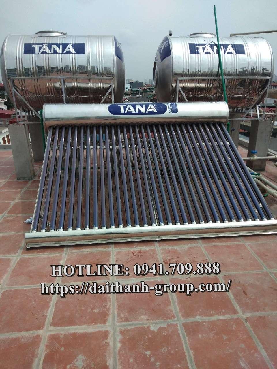 Đơn vị phân phối máy nước nóng NLMT Tân Á uy tín tại Hà Nội