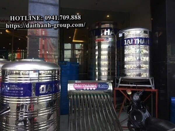 Đại Lý phân phối bồn nước inox Đại Thành giá tốt, chính hãng