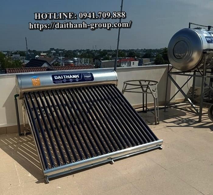 Nhà cung cấp máy nước nóng năng lượng mặt trời Đại Thành 180l