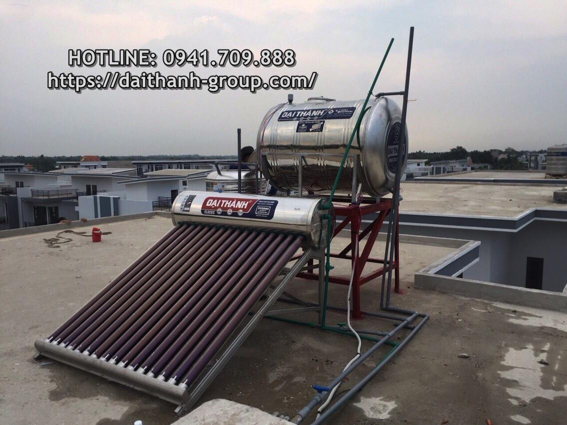 Đơn vị cung cấp sản phẩm máy nước nóng năng lượng mặt trời Đại Thành