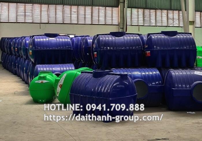 Đại Thành Group - Đại lý cung cấp bồn nước nhựa Đại Thành 250L uy tín