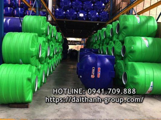 Đại lý cung cấp bồn nước nhựa Đại Thành 250L uy tín