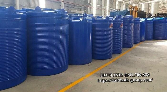 Đơn vị cung cấp bồn nước nhựa Đại Thành 200l