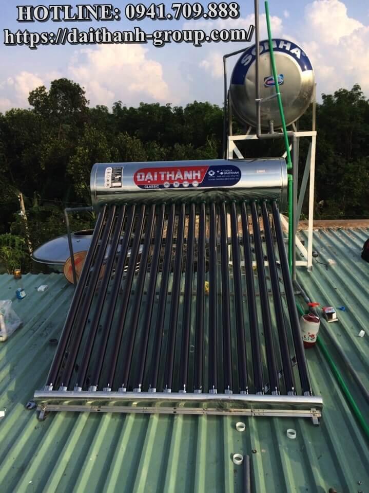 Một vài ưu điểm của máy nước nóng mặt trời Đại Thành